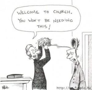 funny church
